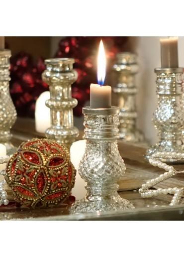 """Glas Kerzenständer """"Exotic"""" klein"""