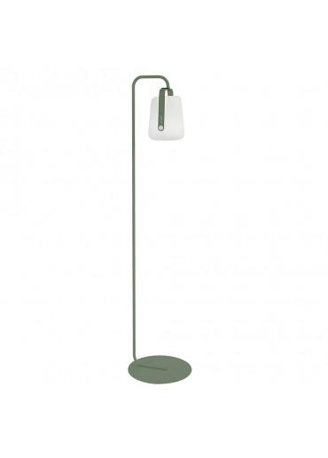 Fermob Set einfacher Standfuß und Outdoor LED Lampe Balad H25 in Kaktus