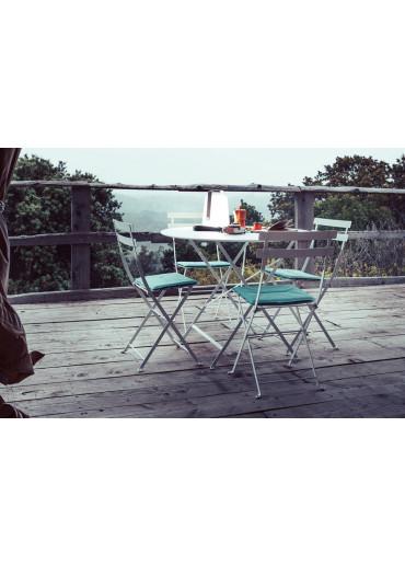 Fermob Sitzkissen für Bistro Stuhl in Lagunenblau