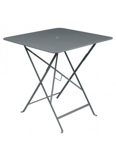 Fermob Bistro Tisch 71 x 71 cm Gewittergrau