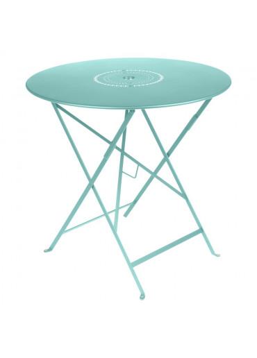 Fermob Floreal Tisch D77 cm in Lagunenblau