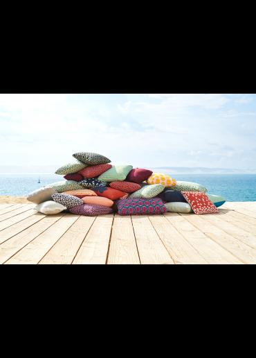 Fermob Outdoor Kissen Cacahuetes 44 x 44 cm Ockerrot