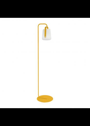 Fermob Set einfacher Standfuß und Outdoor LED Lampe Balad H25 in Honig