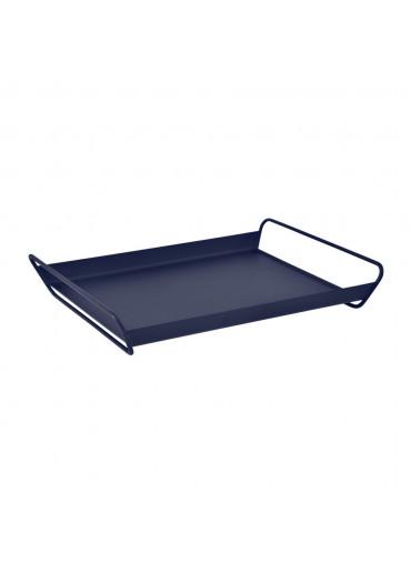 Fermob Tablett Alto groß Abyssblau