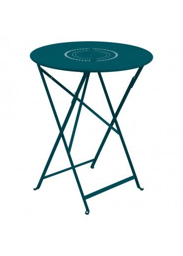 Fermob Tisch Floreal Ø60 cm Acapulcoblau