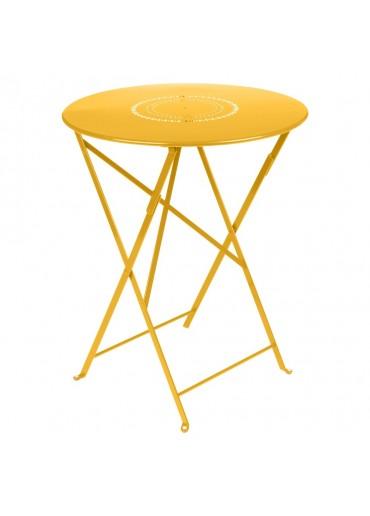 Fermob Tisch Floreal Ø60 cm Honig
