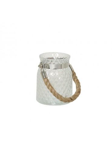Windlicht Alvito klein Glas klar