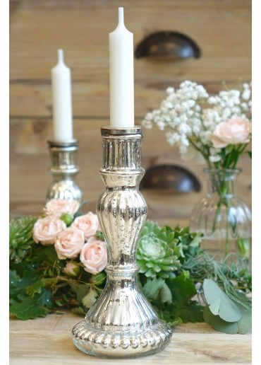 """Glas Kerzenständer """"Romance"""" groß"""