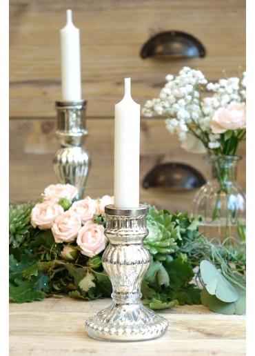 """Glas Kerzenständer """"Romance"""" klein"""