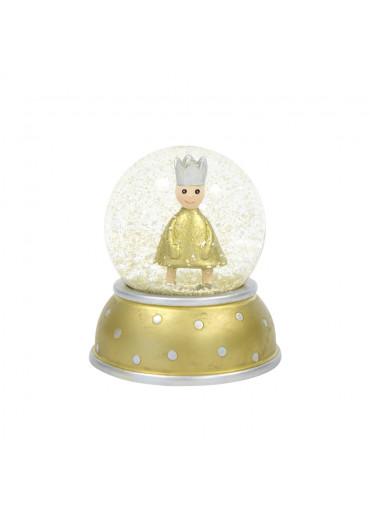 Goldene Schneekugel King von Pape