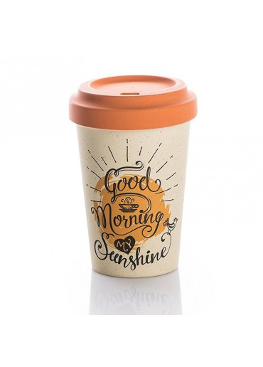"Bamboo Cup ""Good Morning Sunshine"" Chic.Mic"