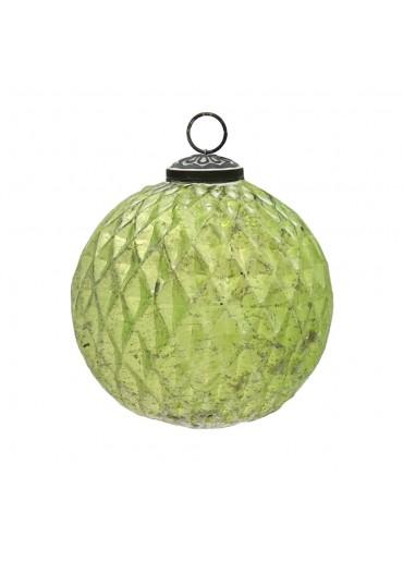 Grün und Form Christbaumkugel hellgrün