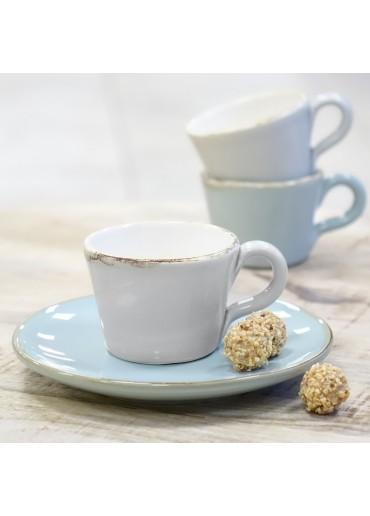 """Grün & Form """"Bianco"""" Espresso Tasse hellgrau"""