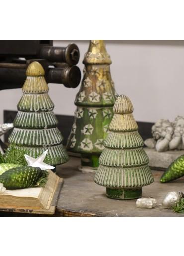 Grün & Form Glas Tannenbaum Sterne H31 cm