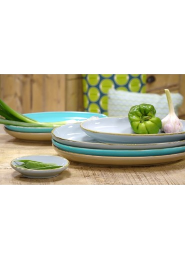 Grün & Form Antipastischale Gr. 2 aqua