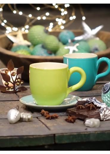 Grün & Form Becher klein apfelgrün