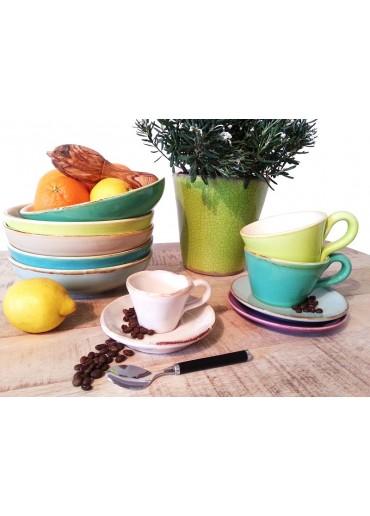 Grün & Form Suppenteller aqua