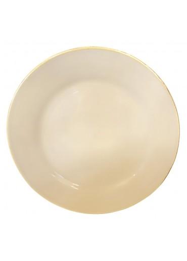Grün & Form Speise Teller groß nuss