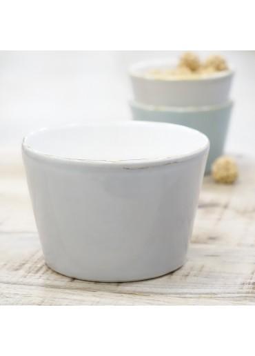 """Grün & Form """"Bianco"""" Müslischale hellgrau"""