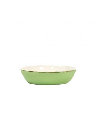 Grün und Form Keramik Salatteller grün