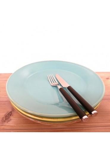 Grün & Form Speise Teller groß türkis