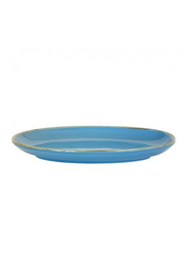 Grün und Form Antipastischale blau