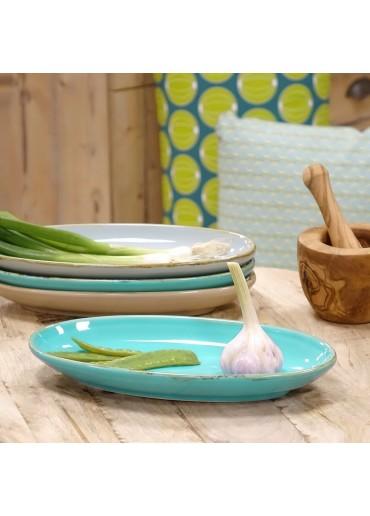 Grün & Form Antipastischale Gr. 1 türkis