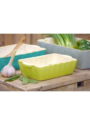 Grün & Form Auflaufform klein rechteckig apfelgrün