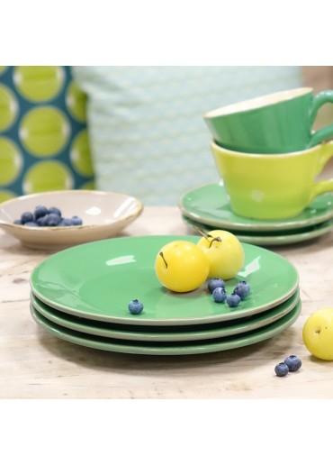 Grün & Form Frühstücksteller dunkelgrün
