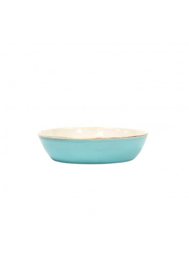 Grün & Form Salatteller hellblau
