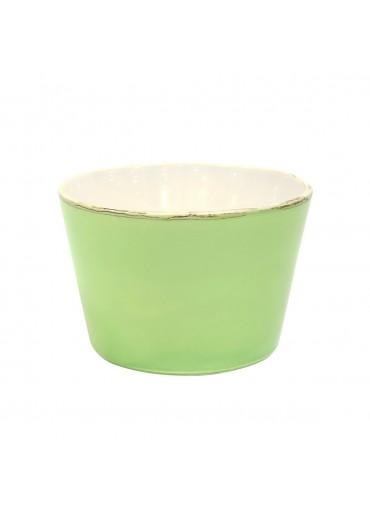 "Grün & Form Keramik Salatschüssel ""Bianco"" mittel grün"