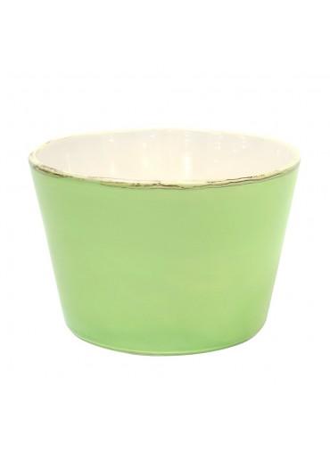 "Grün & Form Keramik Salatschüssel ""Bianco"" grün"