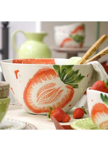 Grün & Form Schüssel mit Erdbeere