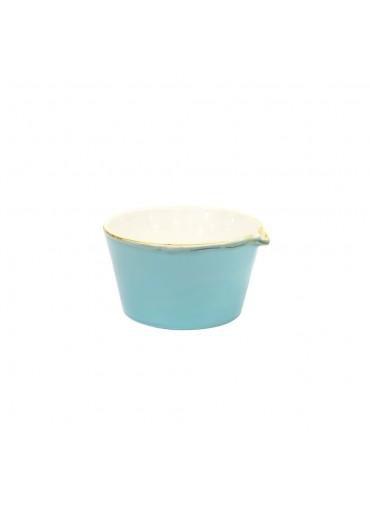 Grün und Form Schale mit Ausguss hellblau