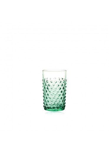 "Trinkglas ""Hobnail"" Beryll"