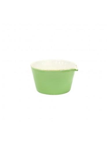 Grün und Form Keramik Schale mit Ausguss