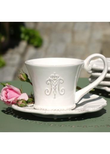 Maison Kaffeetasse mit Untertasse von Miljögarden