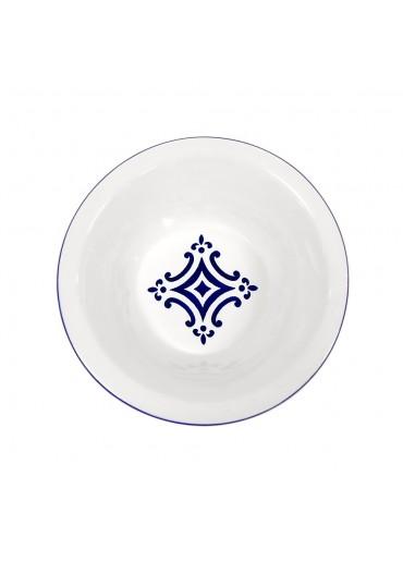 """Vista Portuguese Keramik Schale groß """"Mosaik dunkelblau"""""""
