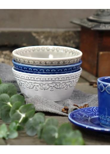 Rua Nova Keramik Schale klein blau