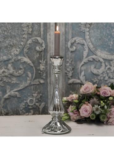 """Chic Antique Glas Kerzenständer """"Kate"""" groß"""
