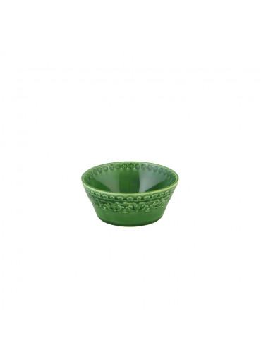 kleine Keramik Schale Rua Nova grün