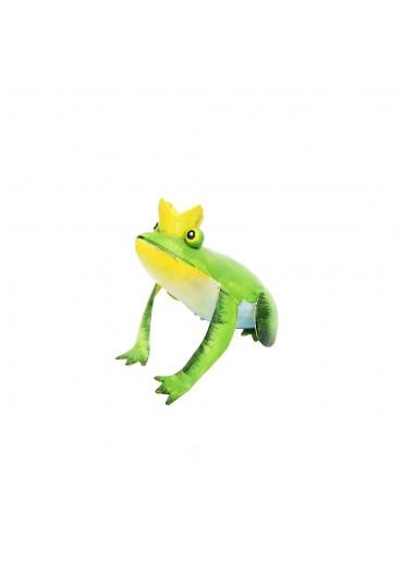 Metall Froschkönig springend klein