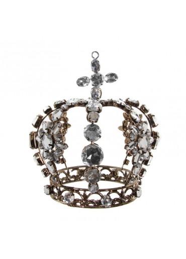 Krone Metall antik