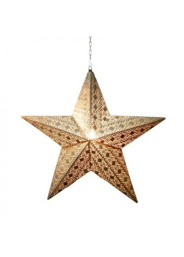 """Leuchtstern """"Stella"""" mit Kabel groß H54 cm"""