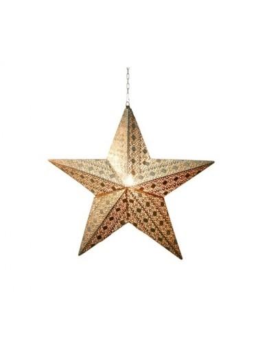 """Leuchtstern """"Stella"""" mit Kabel mittel H42 cm"""