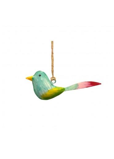 Mini Metall Vogel bunt zum Hängen (103181)