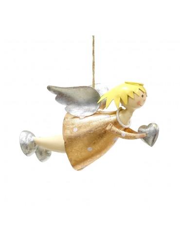 "Engel Lena ""fliegend"" mittel Rosé zum Hängen"