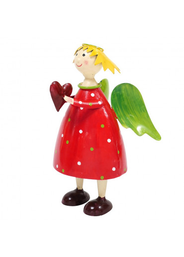 Engel Lena groß Rot zum Stellen