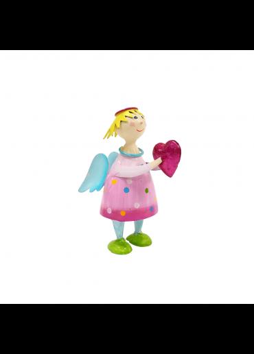 Engel Lena klein rosa zum Stellen