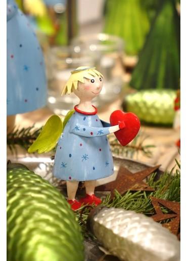 Engel Lena klein hellblau zum Stellen